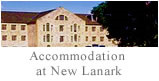 Accommodation at New Lanark
